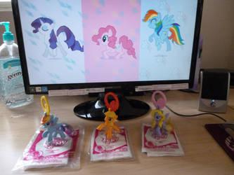 McDonald's Ponies by MegaFatNerd