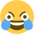 intense crying laughing emoji aka aids by dogggos