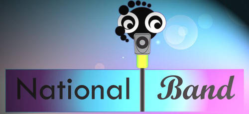 National Band Logo by The-wonder