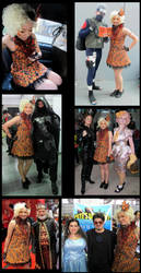 Effie Trinket Cosplay NYCC 2013 pt. 2 by The-Gwyllion