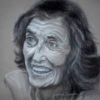 Eunice Kennedy Shriver - Final by joshthecartoonguy