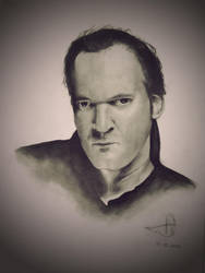 Quentin Tarantino by Tonhiox