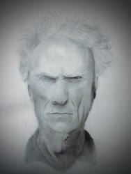 Clint Eastwood by Tonhiox