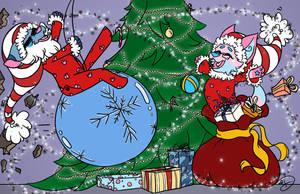 Christmas Chaos! by rdonarico