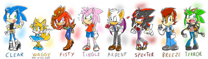 Gender Bending Time! by thegreatrouge