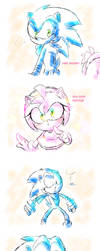 Amy meets a hipster by thegreatrouge