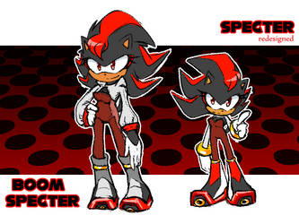 (Redesigned) Specter And Boom Specter by thegreatrouge