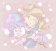 Sunsky and Starlight Dreemurr by thegreatrouge