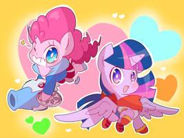 Chibi Ponytale by thegreatrouge