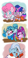 Aus of Ponytale with Different Casts by thegreatrouge
