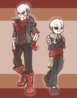 Bad Bone Bros by thegreatrouge