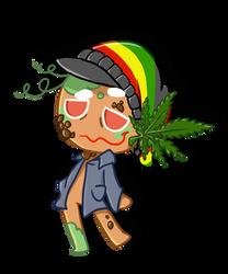 Weed Cookie (joke Cookie Run Original Character) by thegreatrouge