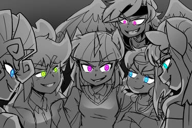 The Mean Six by thegreatrouge