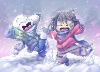 Fun In The Snow by thegreatrouge