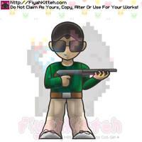 TK Chibi (OnlyToukleth) by FiyahKitteh