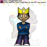 King Nima Chibi (ThePastaKing) by FiyahKitteh