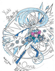 Yuki Onna by zwolf2080