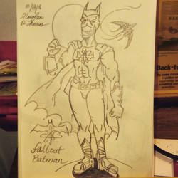 Fallout Batman by zwolf2080
