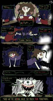 Horrortale Comic 13: Flowey Returns by Sour-Apple-Studios