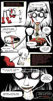 Horrortale Comic 32: Eat the Spaghetti by Sour-Apple-Studios