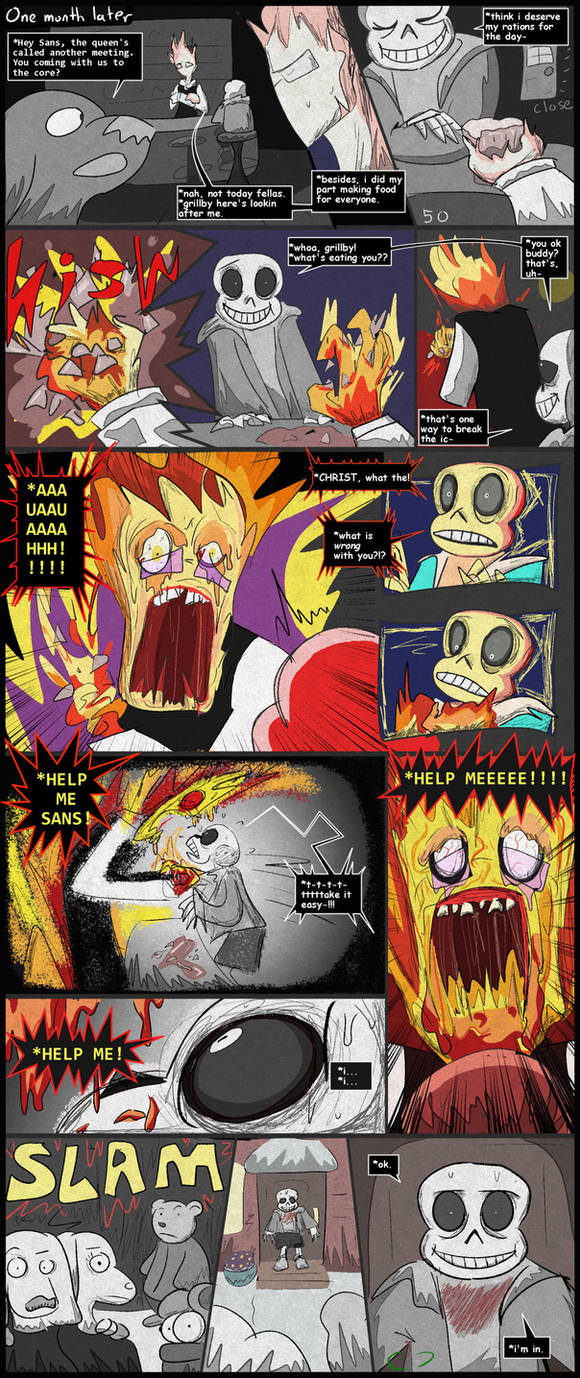 Horrortale 50 extended- Help Me by Sour-Apple-Studios