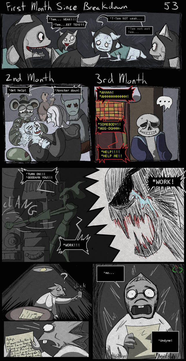 Horrortale 53 - Time passes by Sour-Apple-Studios