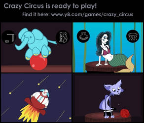 New Game- Crazy Circus by Sour-Apple-Studios