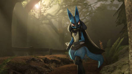 An Evening Stroll by Lucario-Ace