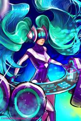 DJ Sona Kinetic by BoraDraws