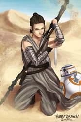 Rey by BoraDraws