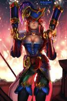 Captain Fortune's Fire by BoraDraws