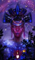 Tribal Woman : Youtube by BoraDraws