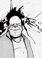 Old Clown by RodrigoWilliam