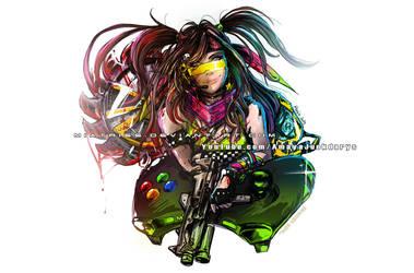 Gamer Girl by Miatriss