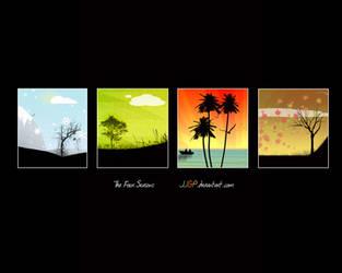 The 4 seasons wallpaper by JJGP