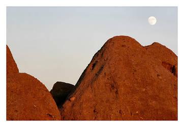 Moon at Papago by jamesjr2