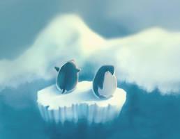 penguin by vincenthachen