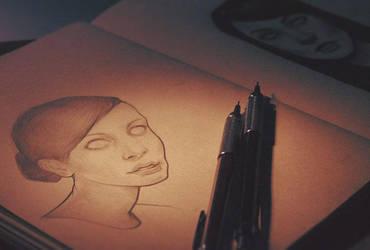 face sketches 2 by vincenthachen