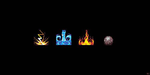 Four Elements by ThKaspar