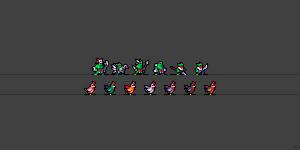Orcs 'n Chickens - x16 by ThKaspar