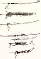 Weapon Concept Art: Swords (Part I) by RedW0lf777sg
