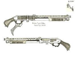 Liza Sokolov's Custom Shotgun (Early Ver.) by RedW0lf777sg