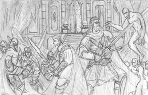 Russel and Crowe vs Vampires by DWestmoore
