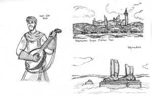 Ink Doodles by DWestmoore