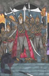 Raid on the Dark Elves by DWestmoore