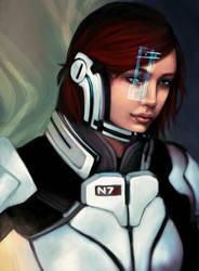 ME2: Reincarnation by Yllaella