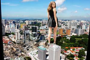 Irina Shayk smashes her way through Kuala Lumpur by Natkatsz