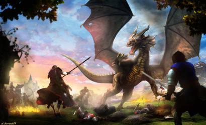 Dragonslayers by sekiq