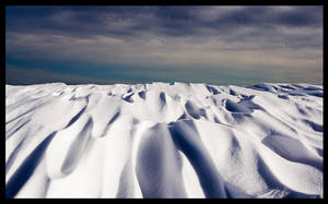 snow desert by Bizzio
