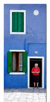 Life in Burano by Bizzio